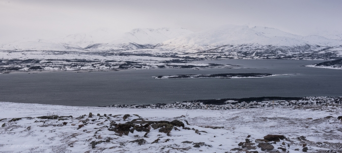 Veduta dal Tromsdalstinden